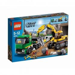LEGO: City - Kopalnia: Koparka z transporterem LEG4203
