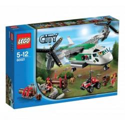 LEGO: City - Lotnisko: Wirolot towarowy LEG60021