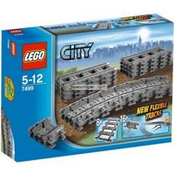 LEGO: City - Pociągi: Elastyczne tory LEG7499