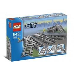 LEGO: City - Pociągi: Zwrotnica kolejowa LEG7895