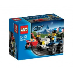LEGO: City - Policja: Quad policyjny LEG60006
