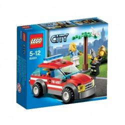 LEGO: City - Straż Pożarna: Samochód komendanta straży pożarnej LEG60001
