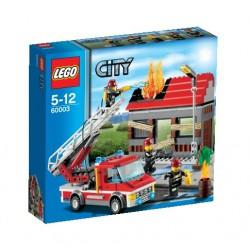 LEGO: City - Straż Pożarna: Alarm pożarowy LEG60003