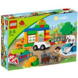 LEGO: Duplo - Moje Pierwsze Zoo LEG6136