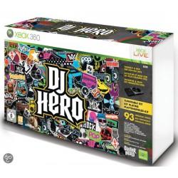 Dj Hero + Kontroler  [XBOX360] UŻYWANA