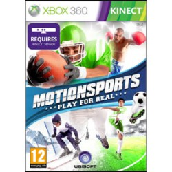Motion Sports: Play For Real [XBOX360] UŻYWANA