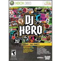DJ Hero [XBOX360] UŻYWANA