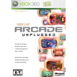 Xbox Live Arcade Unplugged [XBOX360] UŻYWANA