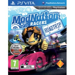 ModNation Racers: Road Trip ENG [PSV] NOWA