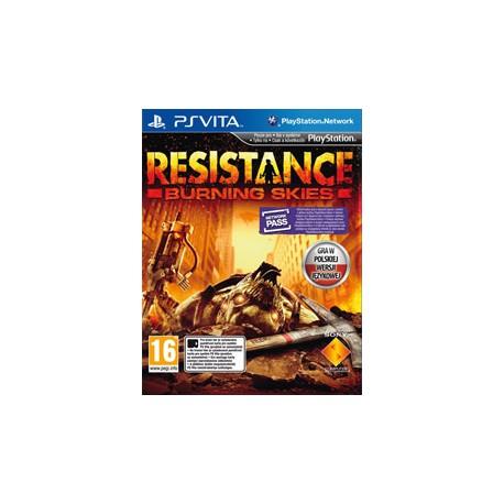 Resistance: Burning Skies [PSV] NOWA