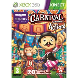 Carnival Game in action [XBOX360] UŻYWANA