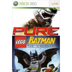 Pure / Lego Batman [XBOX360] Bundle UŻYWANA