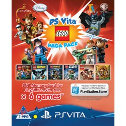 LEGO Mega Pack [PSVITA] +karta 8GB NOWA