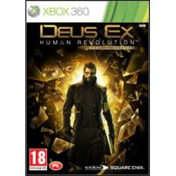 Deus Ex:bunt ludzkości    [XBOX360] UŻYWANA