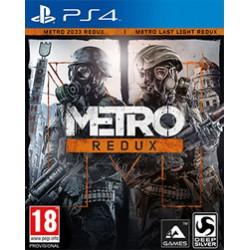 Metro REDUX ENG [PS4] UŻYWANA