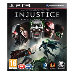 Injustice: Gods Among Us [PS3] NOWA