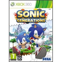 Sonic Generations [XBOX360] UŻYWANA