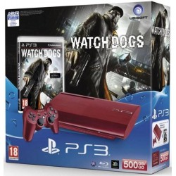 Konsola Ps3 Color Czerwona + Watch Dogs PL