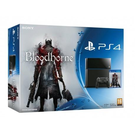 Konsola PS4 500GB + Bloodborne [PS4] UŻYWANA