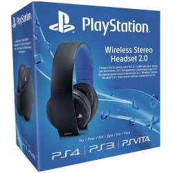 Playstation Wireless Stereo Headset 2.0 [PS3][PS4][PSVITA] NOWA