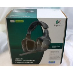 Logitech wireless headset F540 [PS3][XBOX360] UŻYWANA