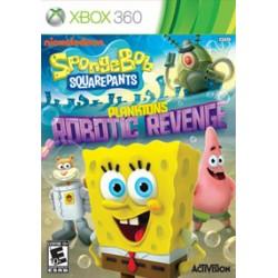 SpongeBob SquarePants: Plankton's Robotic Revenge ENG [XBOX360] UŻYWANA