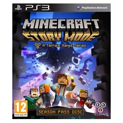 Mincraft: Story Mode A Telltale Games Series ENG [PS3] UŻYWANA