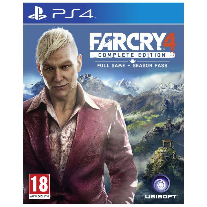 Far Cry 4 Complete Edition Pl Ps4 Uzywana Xgamecenter