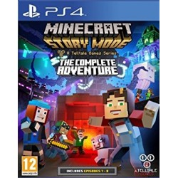 Minecraft: Story Mode The Complete Adventure ENG [PS4] UŻYWANA