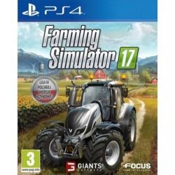 Farming Simulator 2017 PL [PS4] UŻYWANA
