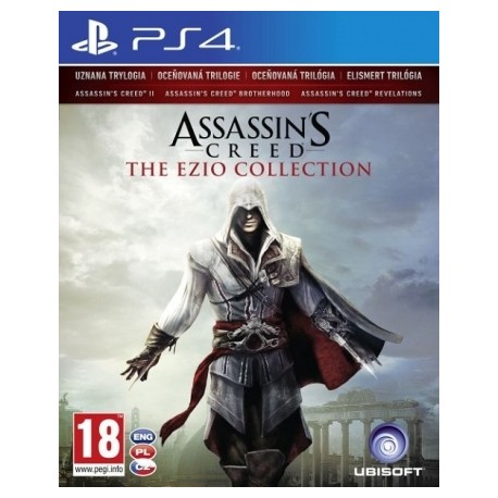 Assassin's Creed: The Ezio Collection PL [PS4] UŻYWANA