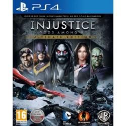 Injustice PL [PS4] UŻYWANA