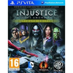 Injustice: Gods Among Us Ultimate Edition PL [PsVITA] NOWA