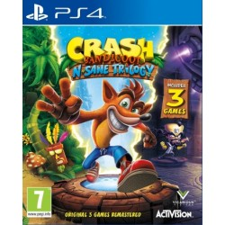 Crash Bandicoot N Sane Trilogy ENG [PS4] UŻYWANA