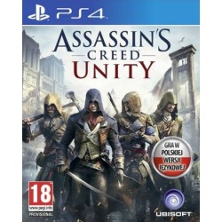 Assassin's Creed Unity PL [PS4] UŻYWANA