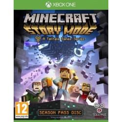 Minecraft: Story Mode - A Telltale Games Series ENG [XONE] UŻYWANA