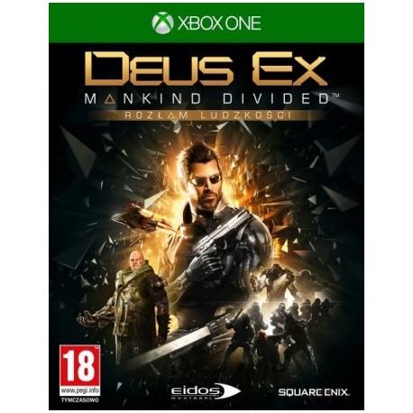 Deus Ex: Rozłam Ludzkości PL [XONE] UŻYWANA