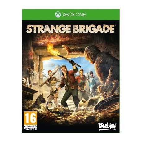 Strange Brigade PL [PS4] NOWA