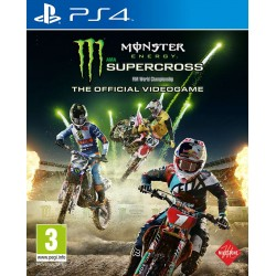 Monster Energy Supercross: The Official Videogame ENG [PS4] UŻYWANA