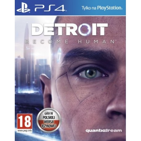 Detroit: Become Human PL [PS4] UŻYWANA