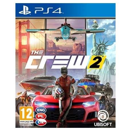 The Crew 2 PL [PS4] NOWA