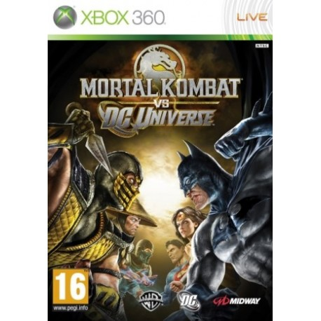 Mortal Kombat vs DC Universe ENG [X360] NOWA
