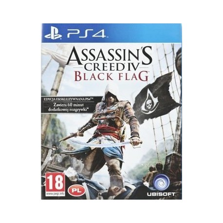 Assassin's Creed IV: Black Flag PL [PS4] UŻYWANA