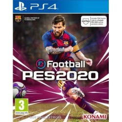 eFootball PES 20 Pro Evolution Soccer 2020 [PS4] NOWA