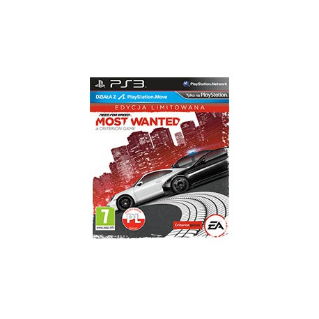 Need for Speed: Most Wanted PL [PS3] UŻYWANA