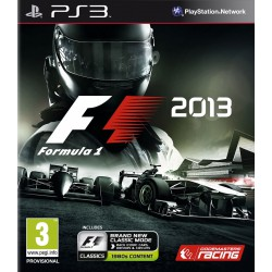 F1 2013 [PS3] NOWA