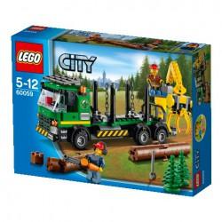 LEGO: City - Ciężarówka do transportu drewna LEG60059