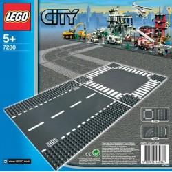 LEGO: City - Płytka - drogi (proste i skrzyżowania) LEG7280