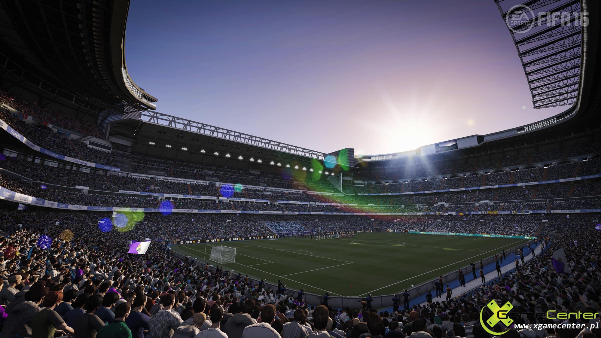 FIFA16 XboxOne PS4 FirstParty Bernabeu screen xgamecenter