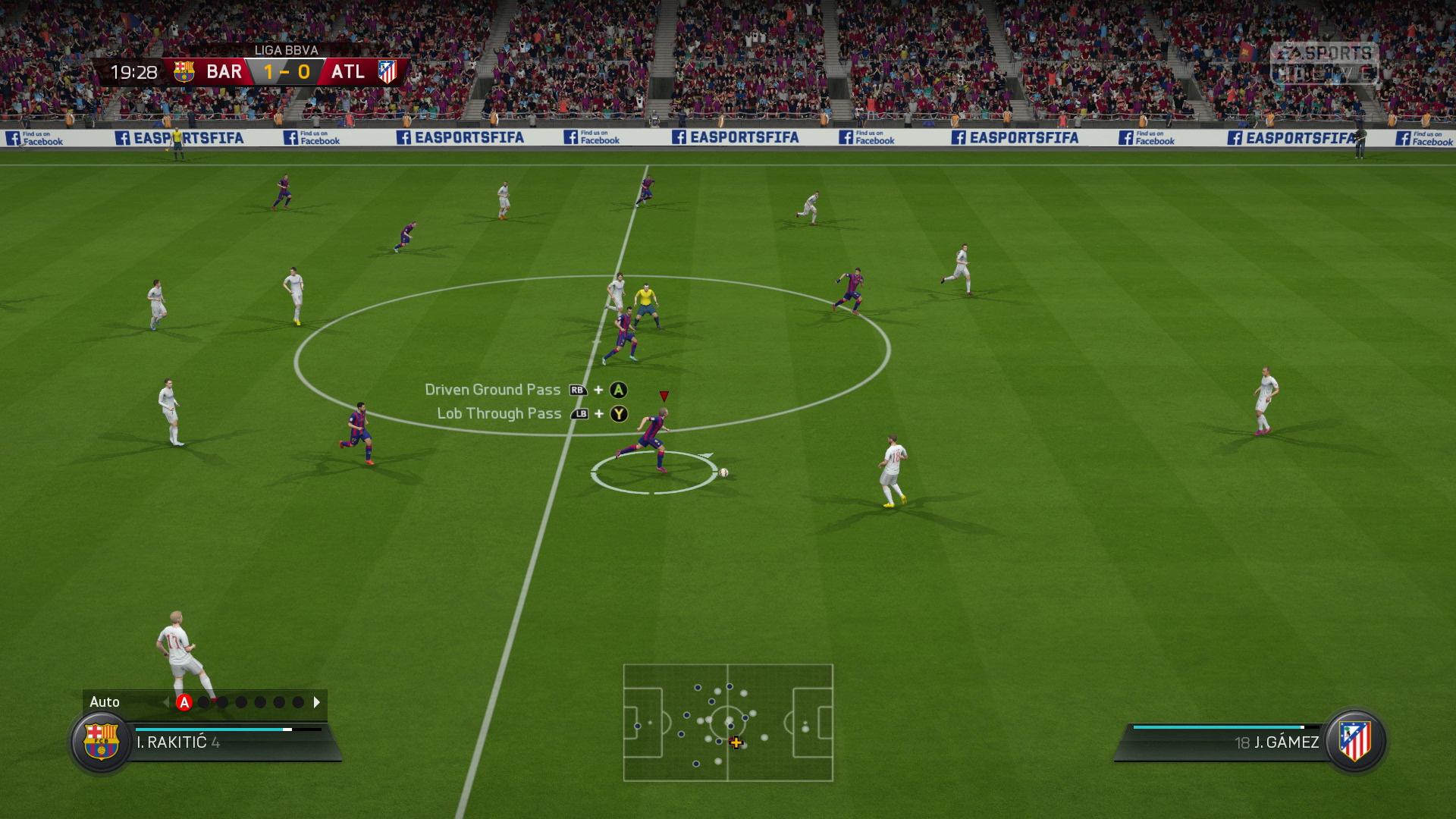 FIFA16 XboxOne PS4 LiveCapture FIFATrainer Pass screen xgamecenter